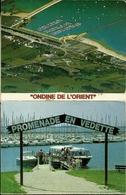 10 ONDINE DE L' ORIENT Carnet Dépliant 12 Cp DétachableS (format 10.4X7.5) Lac D' Orient PROMENADE EN VEDETTE Edit ESTEL - France