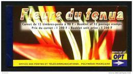 POLYNESIE 2004 Carnet N° C723  ** (723/734) Complet Avec Ses 2 Feuillets Neuf MNH Superbe C 30 € Fleurs Flore Fl - Carnets