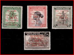 Congo 0270/73** Croix Rouge  MNH - Congo Belge