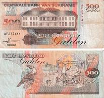 Suriname 500 Guldens - Surinam