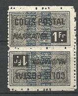 ALGERIE COLIS POSTAUX N° 14a  NEUF* CHARNIERE TB  / MH - Algérie (1924-1962)