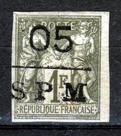 St.PIERRE & MIQUELON1885   05 SPM On 1 Fr  MH - St.Pierre & Miquelon