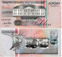 Suriname 1000 Guldens - Surinam