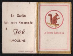 Calendriers > Petit Format : 1941-60 Moulins Joë Je Porte Bonheur 1950 - Calendriers