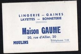 Calendriers > Petit Format : 1941-60 Jean Pierre Aumont Moulins Maison GAUME 1955 - Calendriers