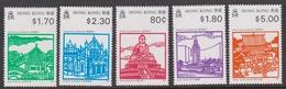Hong Kong Scott 606-609 1991 Historic Landmarks, Mint Never Hinged - Hong Kong (...-1997)