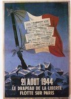 MILITARIA - Les Affiches Et Les Cris De La Liberté Affiche De Micou Réalisée Pour Le Journal L'Humanité Août 1944 - Patriotiques