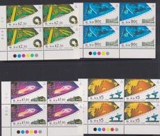 Hong Kong Scott 679-682 1993 Science And Technology, Block 4, Mint Never Hinged - Hong Kong (...-1997)