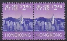 Hong Kong Scott 773 1997 Hong Kong Skyline $ 2.50 Pair, Mint Never Hinged - Hong Kong (...-1997)