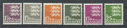 DINAMARCA  YVERT  406A/10  MNH   ** - Dinamarca