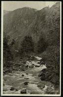 Ref 1253 - 1954 Judges Postcard - Aberglaslyn Pass River - Caernarvonshire Wales - Caernarvonshire