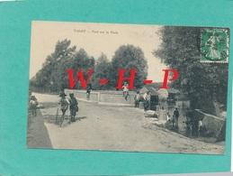 CPA  TAISSY (Marne)   Pont Sur La Vesle   - Enfant Sur Tricycle - éditeur Bionaimé Reims - France