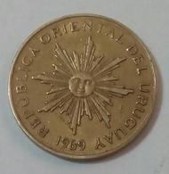 URUGUAY - 1 PESO - 1969 - KM 52 - Agouz - Uruguay