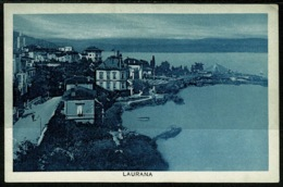 Ref 1254 - 1929 Postcard - Italy Laurana Fiume Now Lovren Croatia - 60c Rate - Croatia