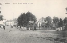 DENDERMONDE PORTE DE BRUXELLES ET ENTREE DE LA VILLE - Dendermonde