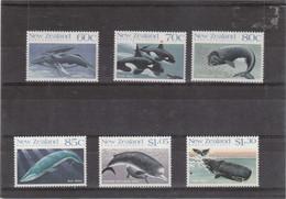 B11 - TERRE DE ROSS - 21 / 26** MNH De 1988 - FAUNE - MAMIFERES MARINS. - Ross Dependency (New Zealand)