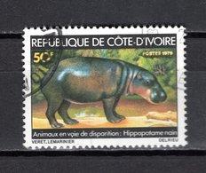 COTE D'IVOIRE  N° 488   OBLITERE   COTE 0.50€    ANIMAUX - Côte D'Ivoire (1960-...)