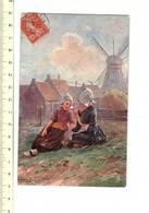 49329 - Les Enfants Avec Moulin à Vent - Kinderen Met KWind Molen - Scènes & Paysages