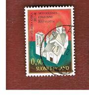 FINLANDIA (FINLAND) -  SG 921 -    1977   VALAMO  CLOISTER       -   USED ° - Usados