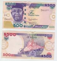 Nigeria 500 Naira 2012  Pick 30 AUNC - Nigeria