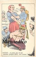 Humour Satirique  N°5. Guerre 14/18 Vengeance: Le Supplice Infligé à Un Soldat Allemand ( Casque à Pointe) - Humoristiques