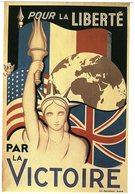 MILITARIA -  Affiches Et Les Cris De La Liberté Affiche De Caillet Réalisée à Alger 1943 Pour Services Du Général Giraud - Patriotiques