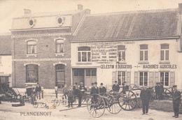 Plancenoit (Lasne) Maison Célestin Bourgeois - Machines Agricoles- Très Belle Carte Rare - état Voir Scan. - Lasne