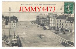 CPA - Place Du Bassin, Côté Du Vieux SAINT-NAZAIRE En 1909 44 Loire Inf. - N° 120 - Coll. Delaveau - Scans Recto-Verso - Saint Nazaire