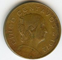 Mexique Mexico 5 Centavos 1972 KM 427 - Mexique