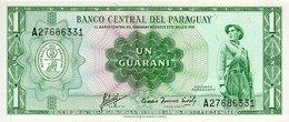 Paraguay 1 Guarani 1952 Pick 193b UNC - Paraguay