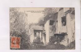 CPA DPT 16 ST MEME LES CARRIERES, LES CAVES NOIRES En 1913! - France