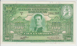 Paraguay 100 Guaranies 1952 Pick 189b UNC - Paraguay
