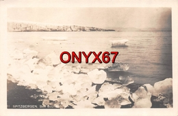 Carte Postale Photo SPITZBERG-SPITSBERGEN-Svalbard-Arctique (Norvège-Norway-Norge) Bell Sound Banquise 2 SCANS - Norway