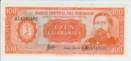 Paraguay 100 Guaranies 1952 Pick 199 UNC - Paraguay