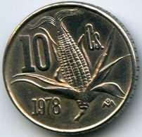Mexique Mexico 10 Centavos 1978 KM 434.2 - Mexique