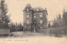 Virginal - Chateau De M. Thiry - Très Belle Carte Rare - état Voir Scan. - Ittre