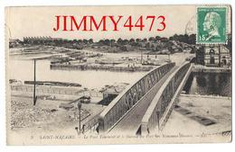CPA - Le Pont Tournant Et Le Bureau Du Port Des Nouveaux Bassins En 1925 - SAINT-NAZAIRE 44 Loire Inf. - N° 3 - L L - Saint Nazaire