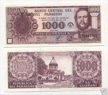 Paraguay 1000 Guaranies 2003 Pick 214c UNC - Paraguay