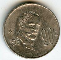 Mexique Mexico 20 Centavos 1976 KM 442 - Mexique