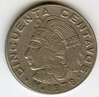 Mexique Mexico 50 Centavos 1978 KM 452 - Mexique