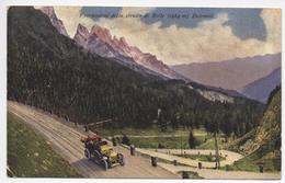 PASSO DI ROLLE  TRENTO   Cartolina  Viaggiata 1931 - Trento