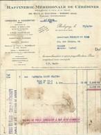 BOBIGNY RAFFINERIE MERIDIONALE DE CERESINES OZOKERITES CIRES D ABEILLES VEGETALES PARAFFINES USINE  MARSEILLE ANNEE 1930 - Unclassified