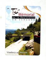 Fiche Visite Passion Memorial De La Resistance - Advertising