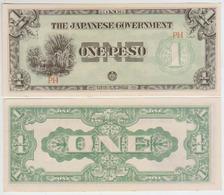 Philippines 1 Peso (1942) P106a AUNC - Philippines