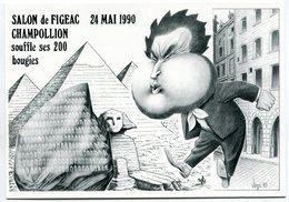 VEYRI - FIGEAC - Carte Pirate 1990 - Champollion - Voir Scan - Veyri, Bernard