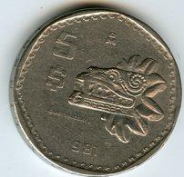 Mexique Mexico 5 Pesos 1981 KM 485 - Mexique