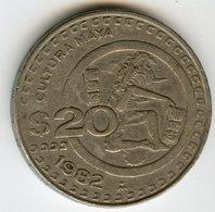 Mexique Mexico 20 Pesos 1982 KM 486 - Mexique