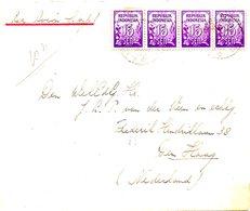 INDONESIE. N°33 De 1951 Sur Enveloppe Ayant Circulé. - Indonesia