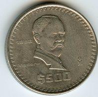 Mexique Mexico 500 Pesos 1988 KM 529 - Mexique