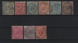 1863 De La Rue Serie Cpl US - Usati